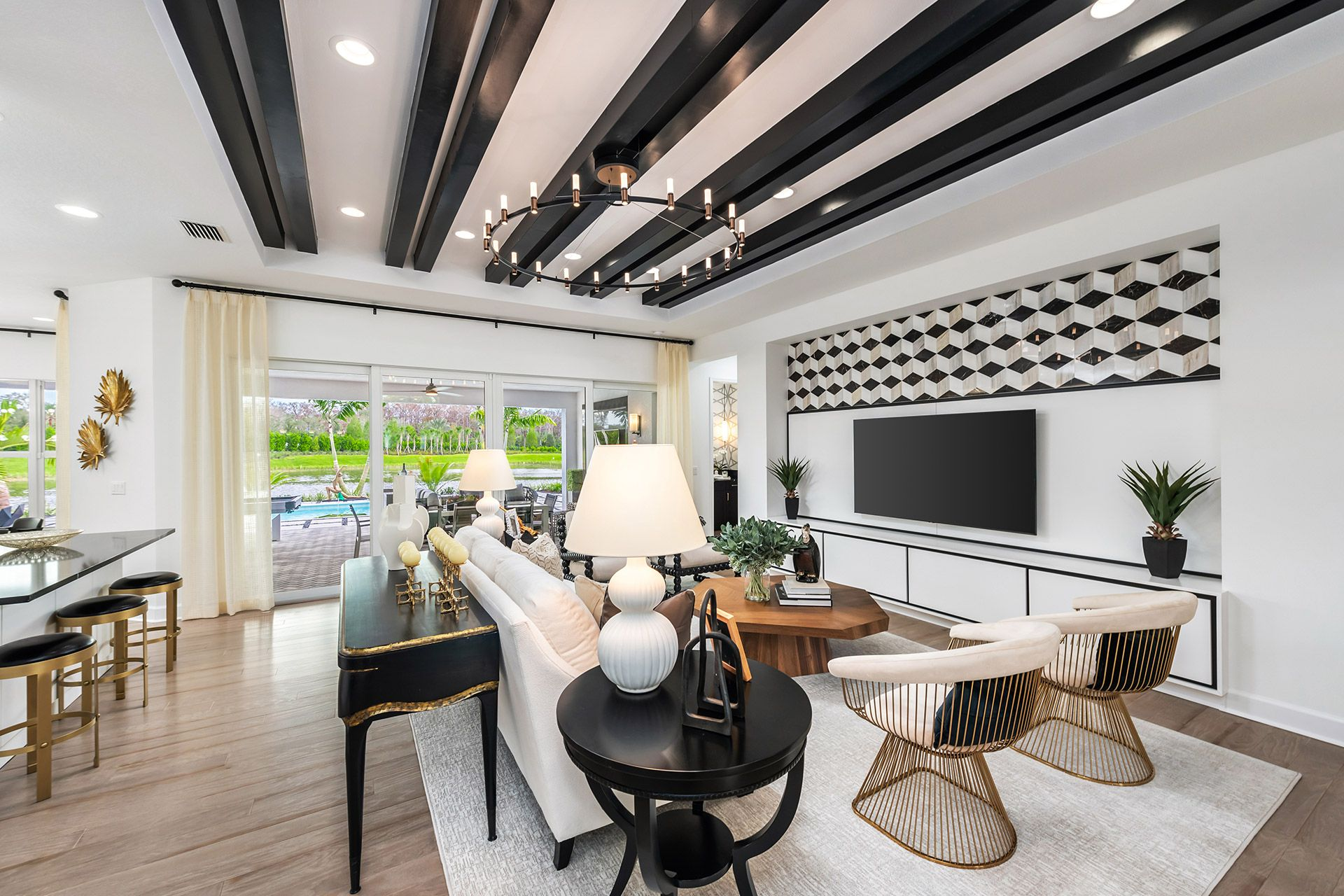 Living Area featured in the Estero By GL Homes in Naples, FL