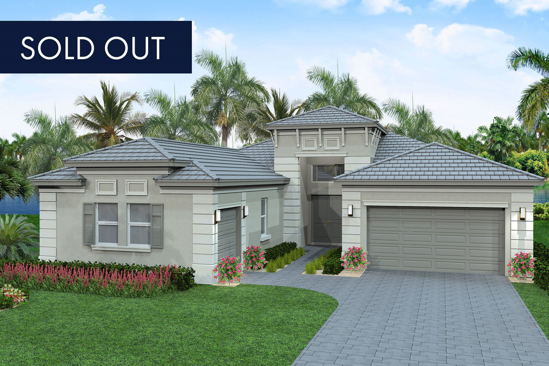 Exterior featured in the Sonoma By GL Homes in Palm Beach County, FL