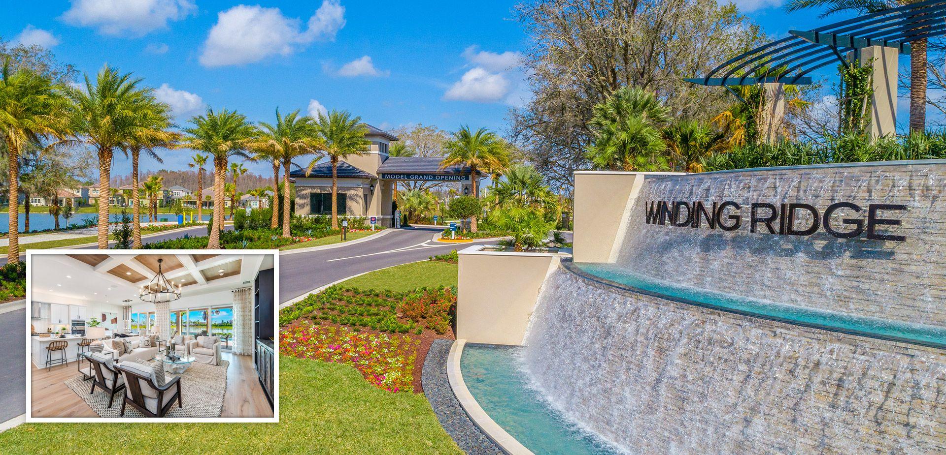 'Winding Ridge' by G.L. Homes in Tampa-St. Petersburg