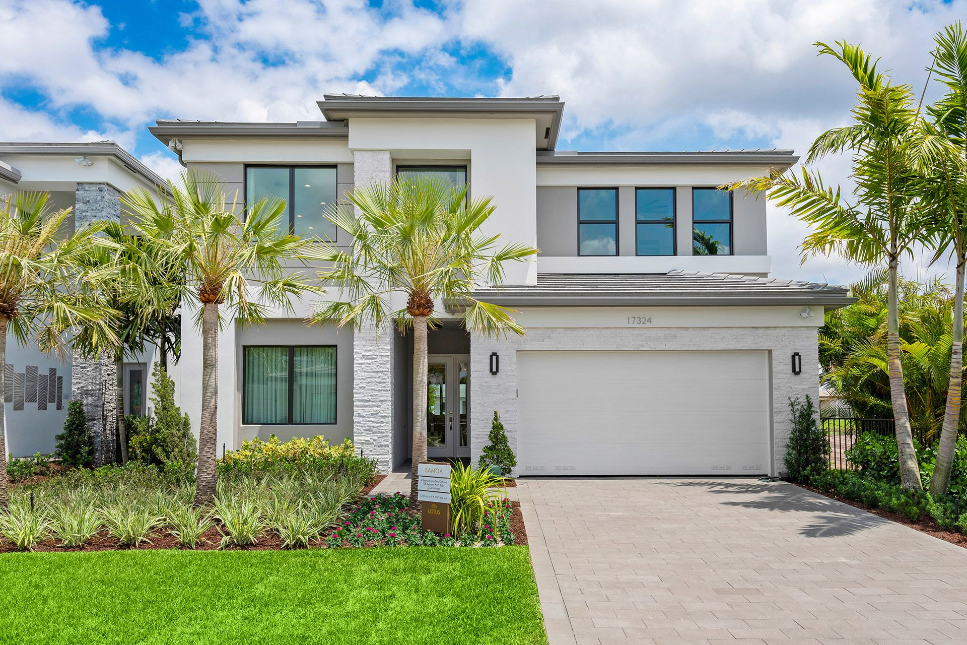 Exterior featured in the Samoa By GL Homes in Palm Beach County, FL