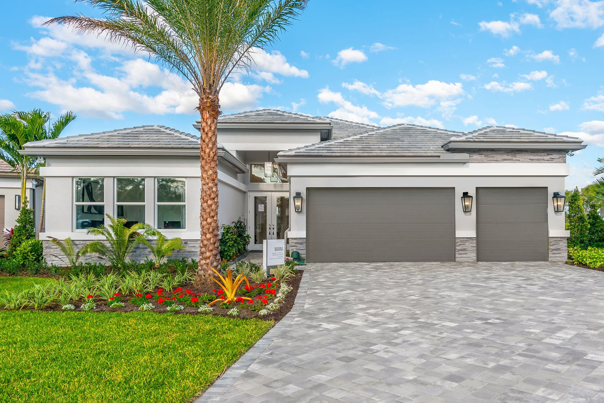 Exterior featured in the Marina By GL Homes in Naples, FL