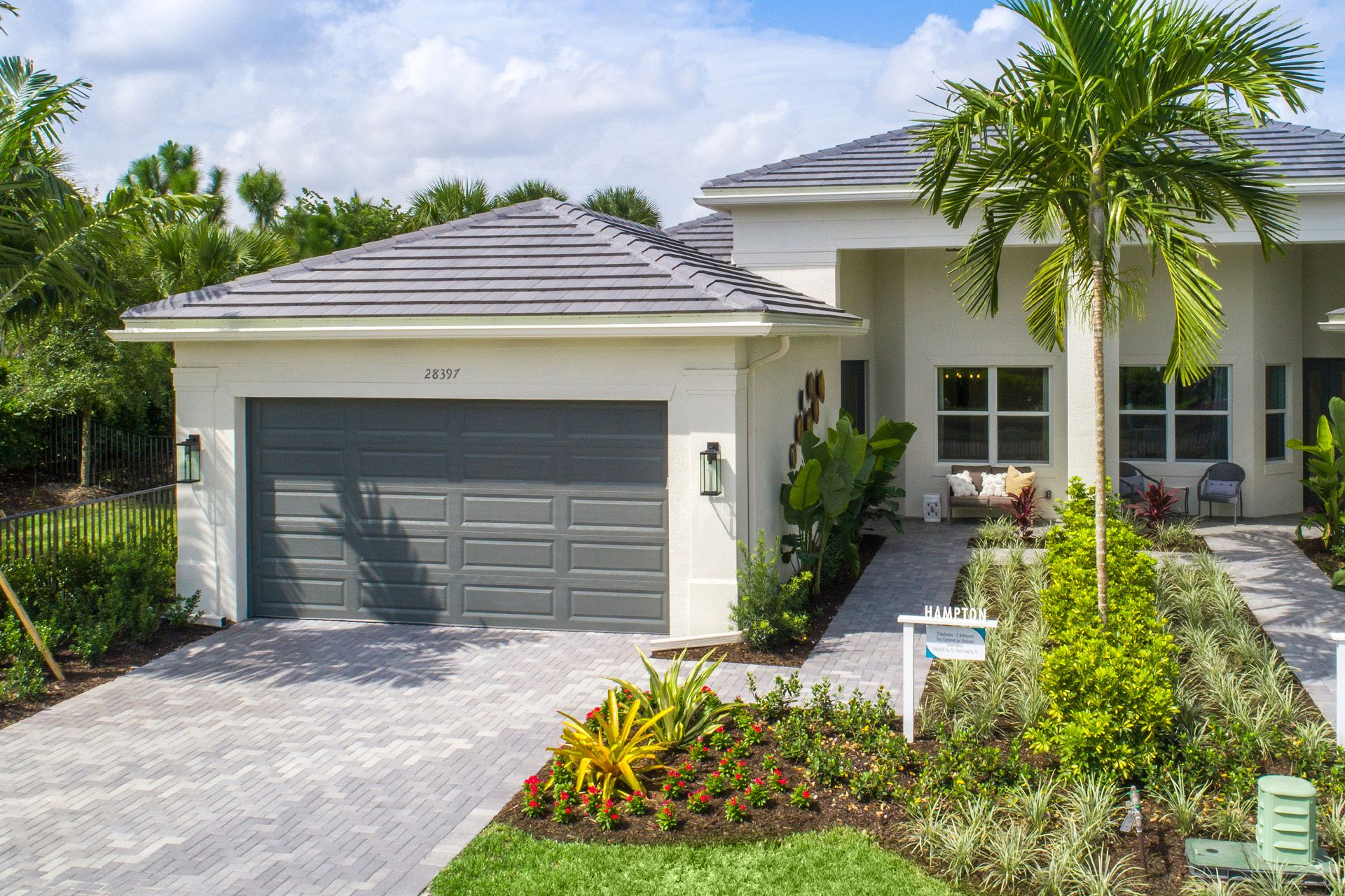 Exterior featured in the Hampton By GL Homes in Fort Myers, FL