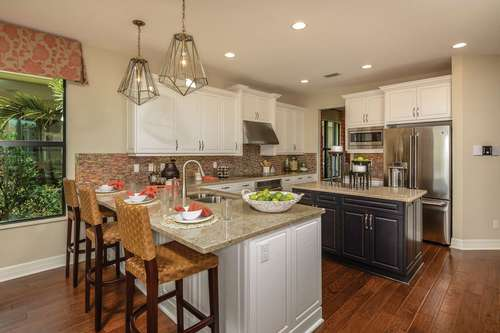 Kitchen-in-Montego-at-Marina Bay-in-Fort Myers