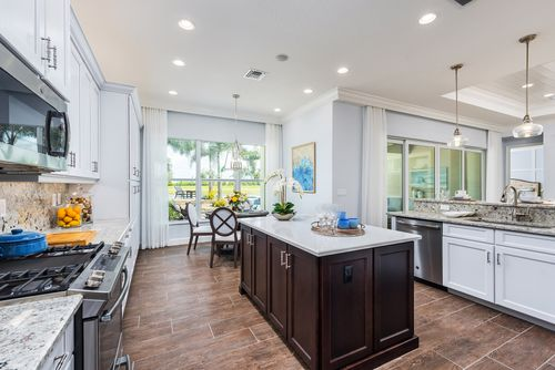 Kitchen-in-Caroline-at-Valencia Cay at Riverland-in-Port Saint Lucie