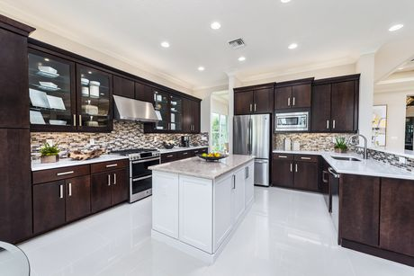 Kitchen-in-Carlyle-at-Valencia Cay at Riverland-in-Port Saint Lucie