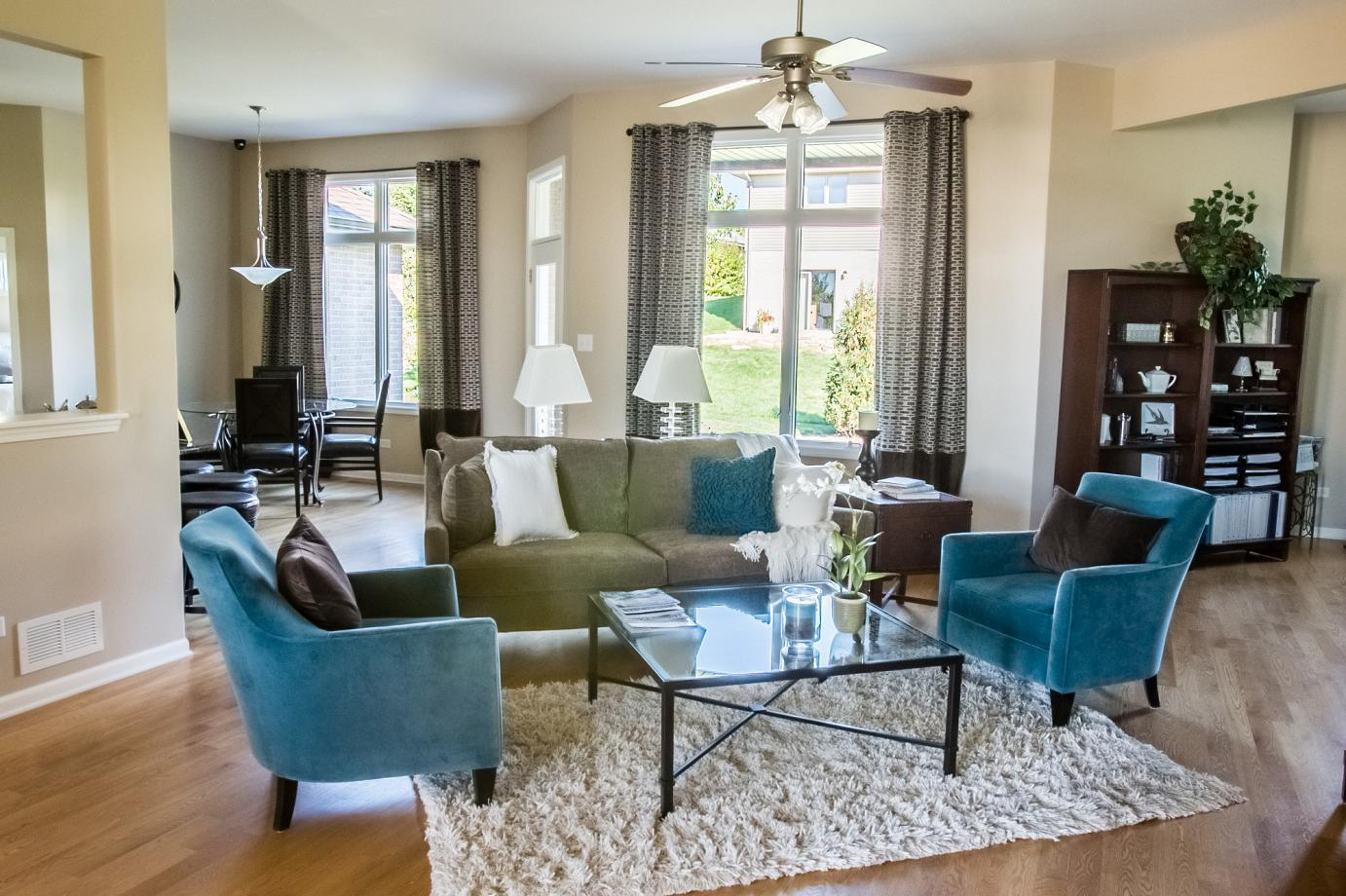 Living Area featured in the Amberwood By Gallagher and Henry in Chicago, IL