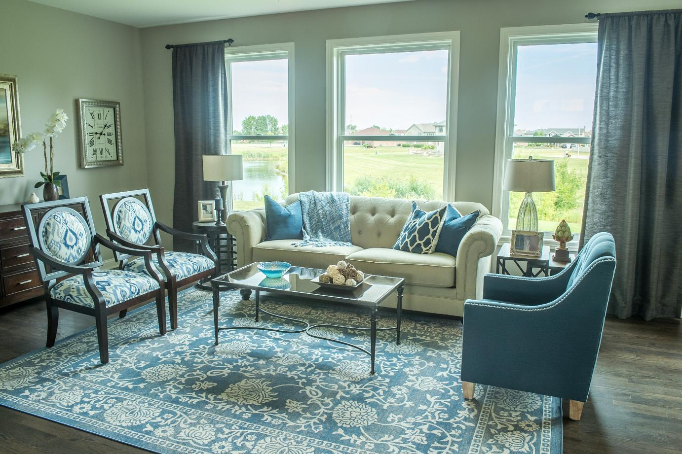 Living Area featured in the Danbury By Gallagher and Henry in Chicago, IL