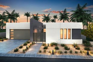 Residence 1 - Gallery at Miralon: Palm Springs, California - Gallery Homes