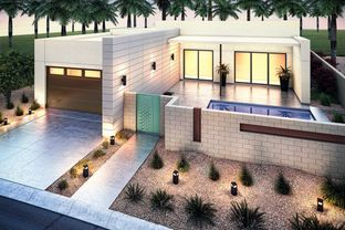 Residence 2 - Gallery at Miralon: Palm Springs, California - Gallery Homes