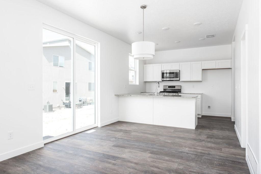 Kitchen featured in the Cortes By Garbett Homes in Salt Lake City-Ogden, UT