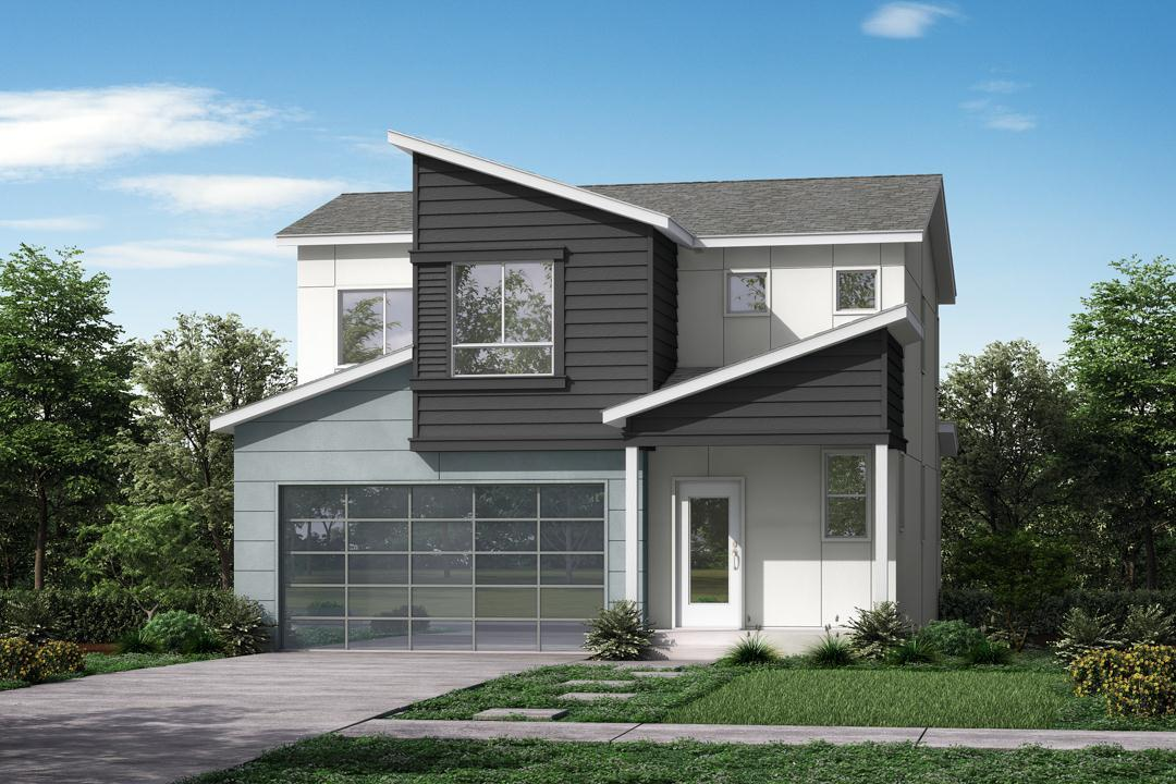 Exterior featured in the Flores By Garbett Homes in Salt Lake City-Ogden, UT