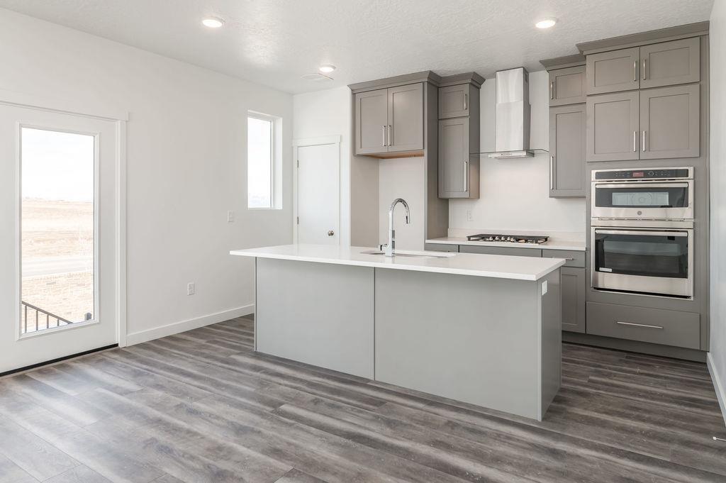 Kitchen featured in the Flores By Garbett Homes in Salt Lake City-Ogden, UT