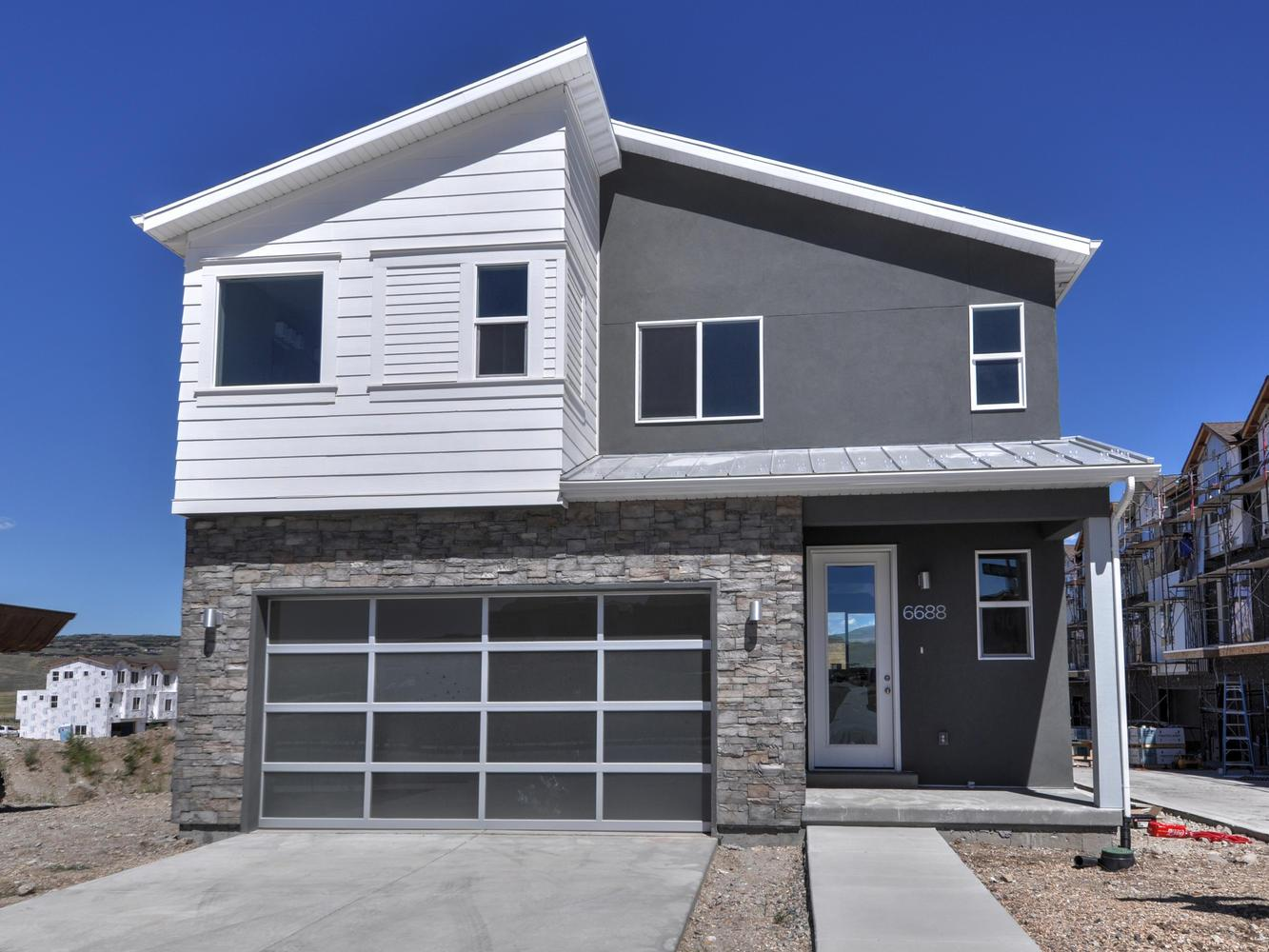 Exterior featured in the Cortes By Garbett Homes in Salt Lake City-Ogden, UT