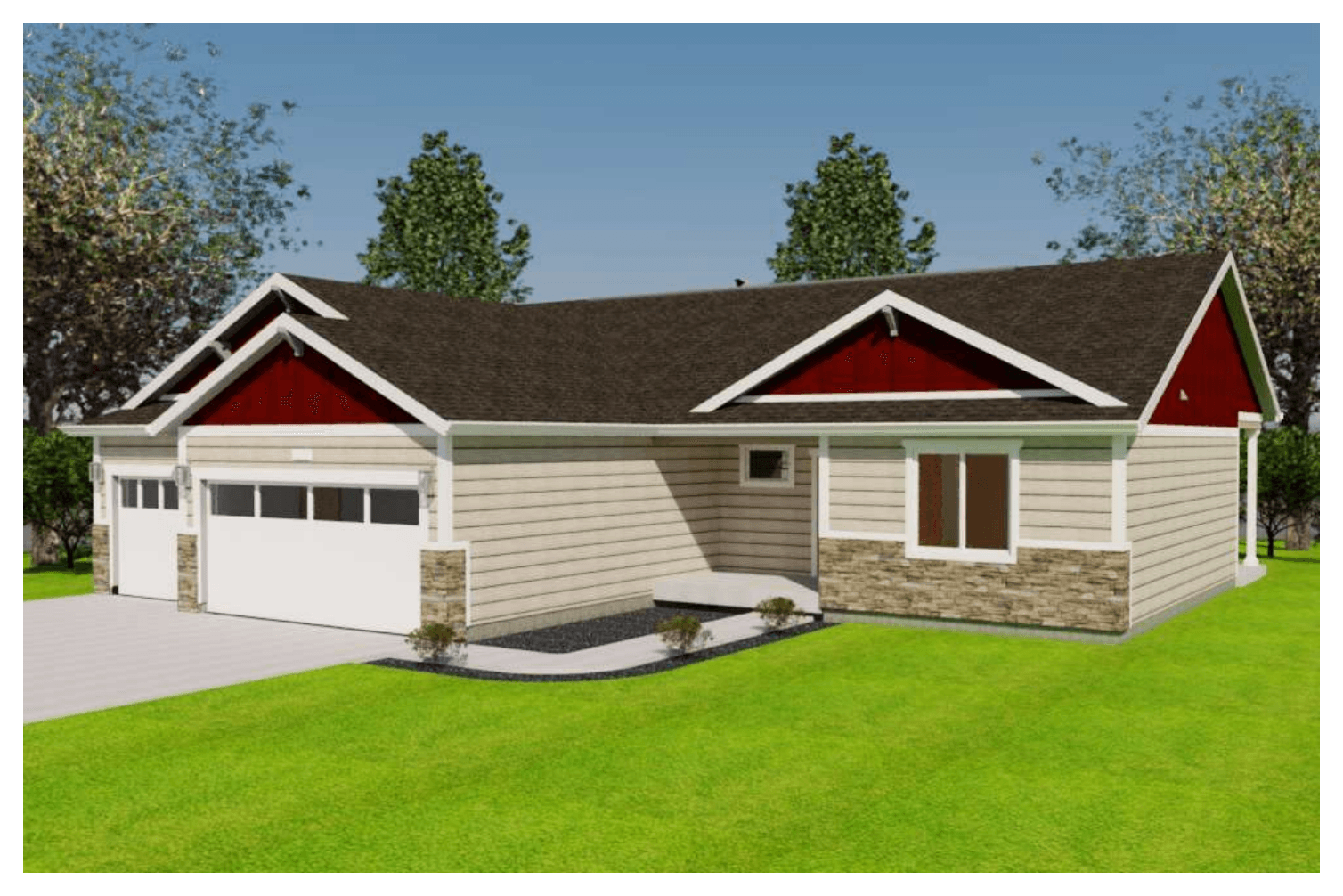 Exterior featured in the Fairview By Gateway Homes- WY in Cheyenne, WY