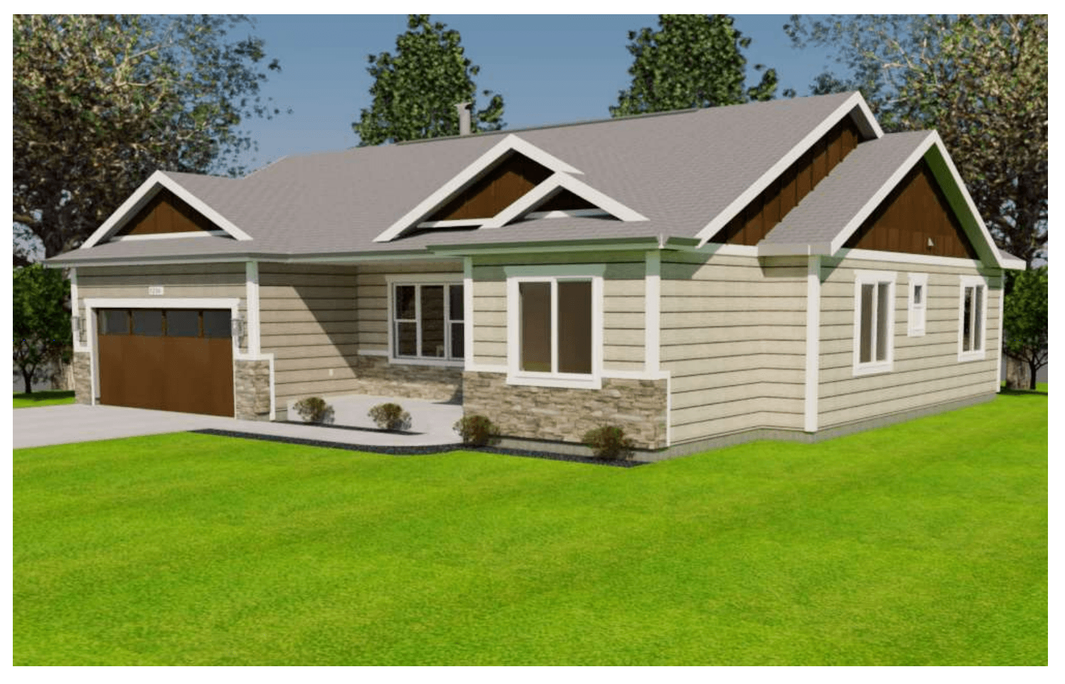 Exterior featured in the Wellington By Gateway Homes- WY in Cheyenne, WY