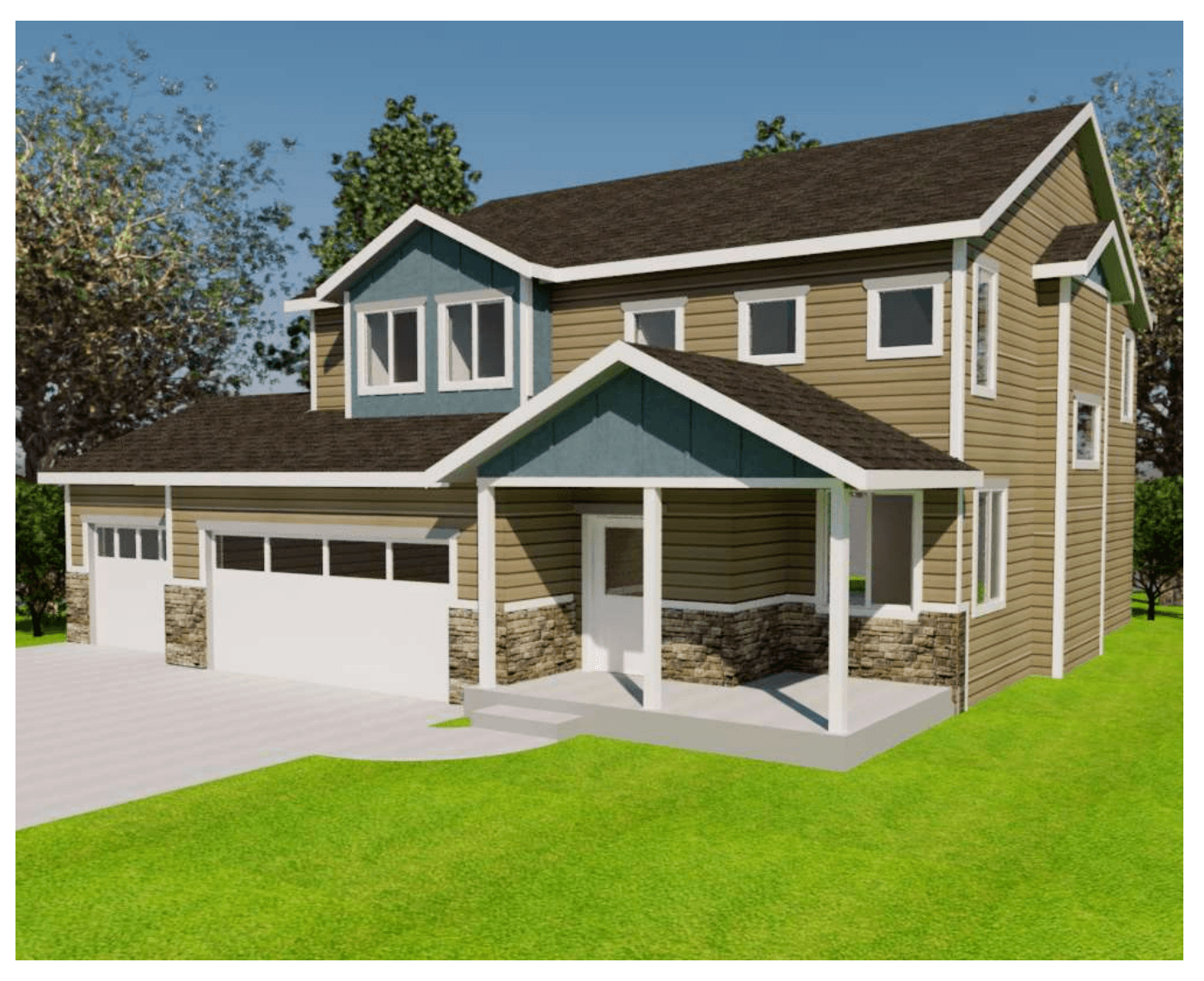 Exterior featured in the Cheyenne By Gateway Homes- WY in Cheyenne, WY