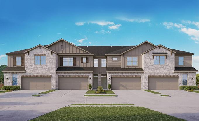 Midtown at Magnolia Community:Townhomes Elevation