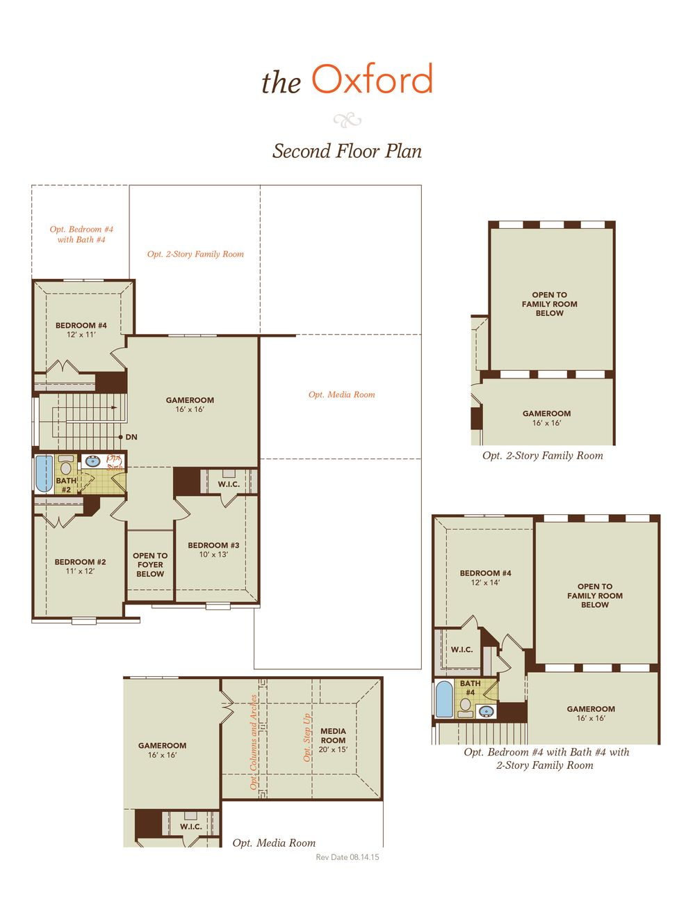 Oxford home plan by gehan homes in trinity falls river for Oxford floor plan