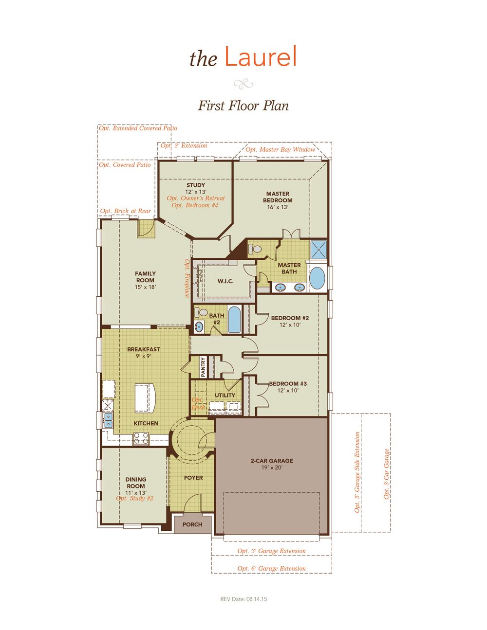 Laurel model at 101 queensgate drive The laurels floor plan