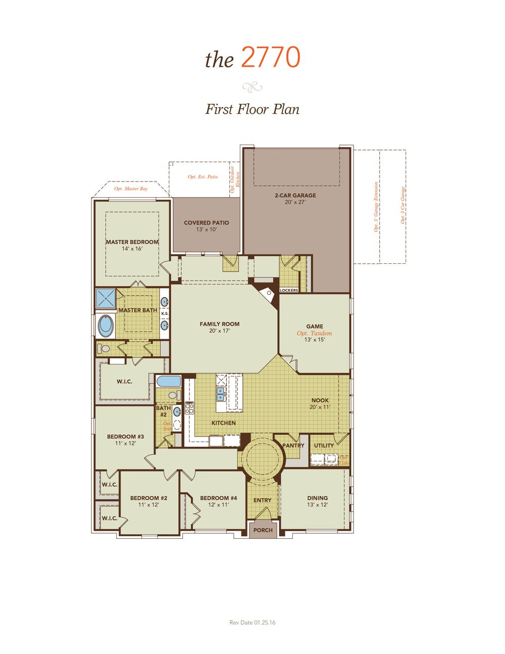Madison home plan by gehan homes in champion heights in for Madison home builders house plans