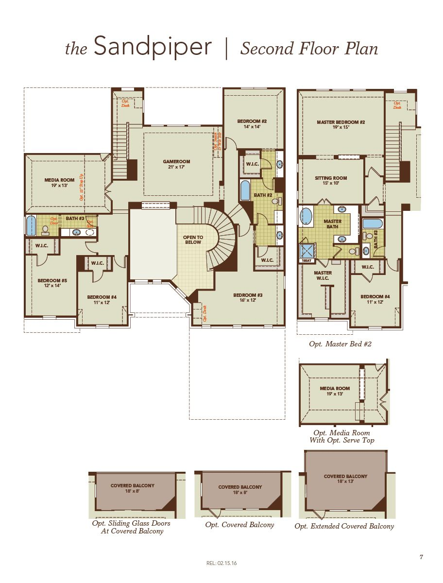 Sandpiper home plan by gehan homes in trinity falls river for Trinity house plans