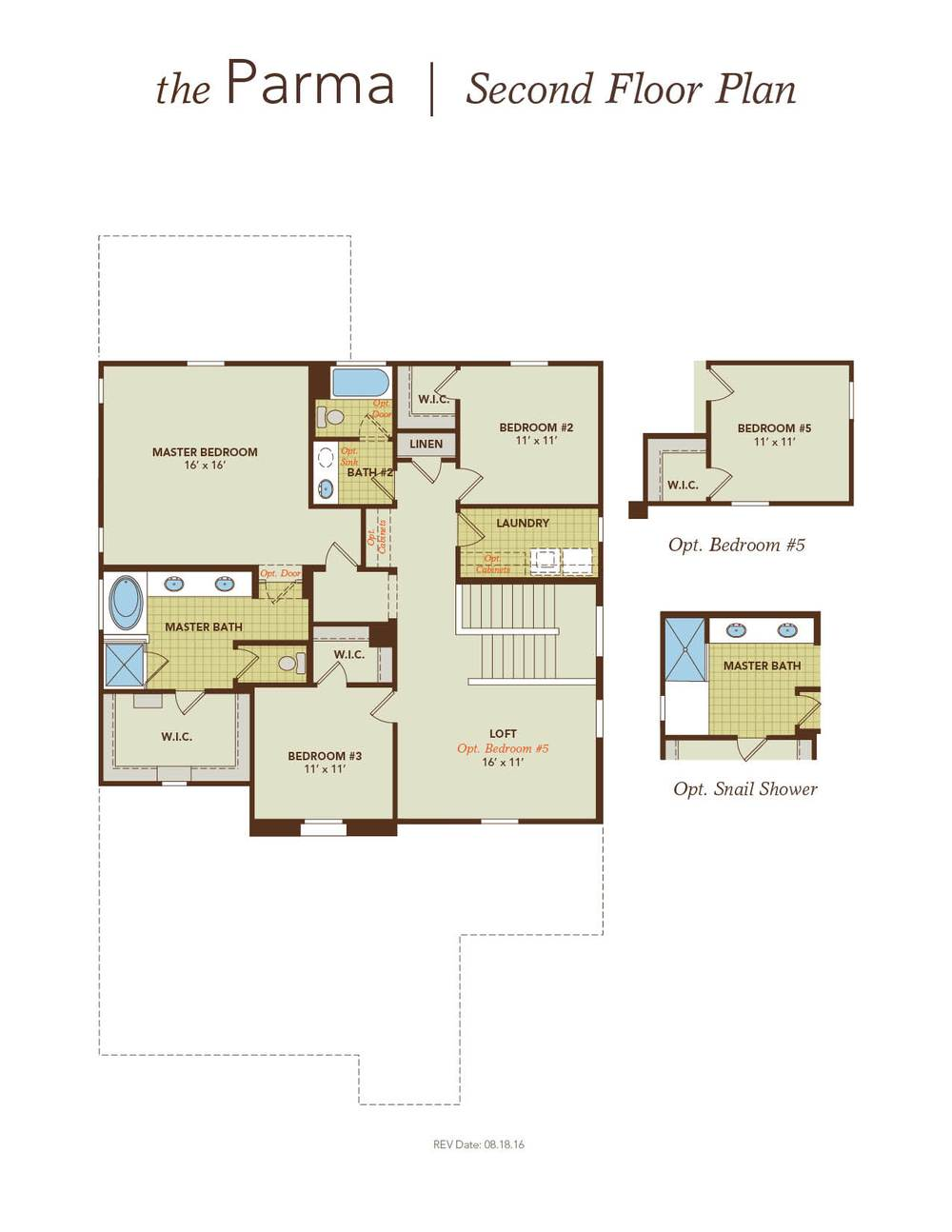 Parma home plan by gehan homes in montana vista villagio House plans for golf course lots