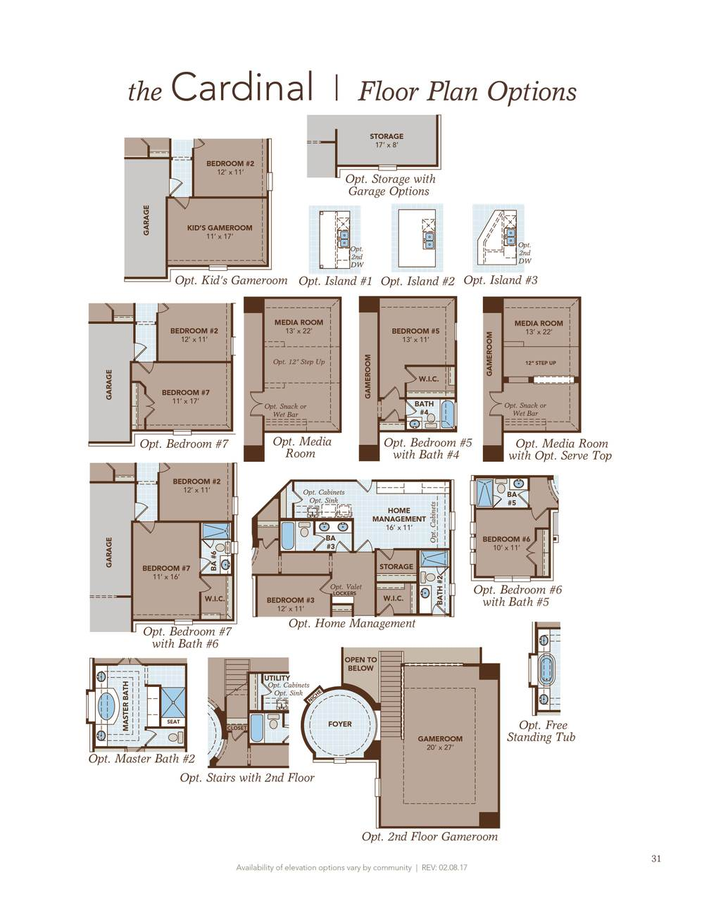 Cardinal home plan by gehan homes in terra colinas for Cardinal house plans
