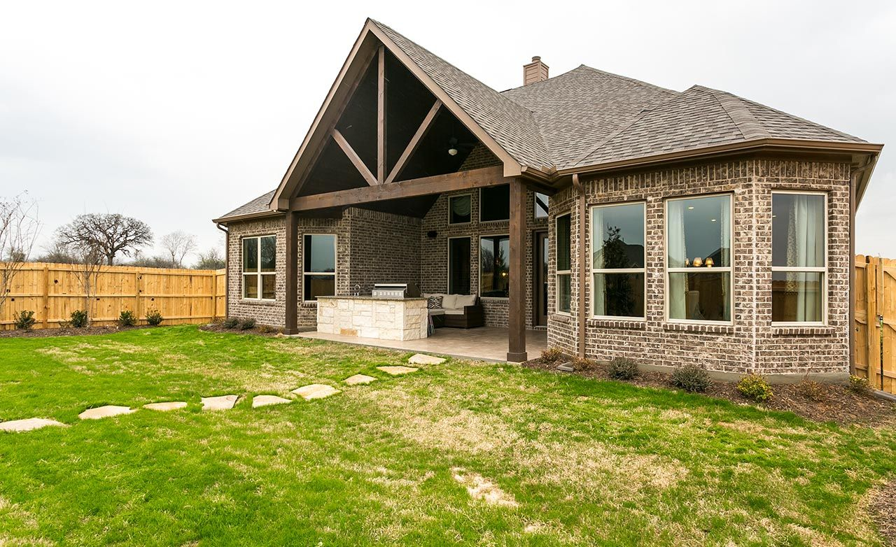 Enclave of hickory creek in hickory creek tx by gehan homes for Gehan homes