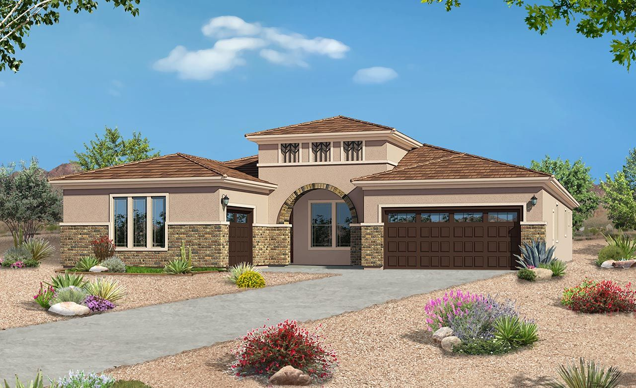 Seville Home Plan By Gehan Homes In Estrella Palazzo Series