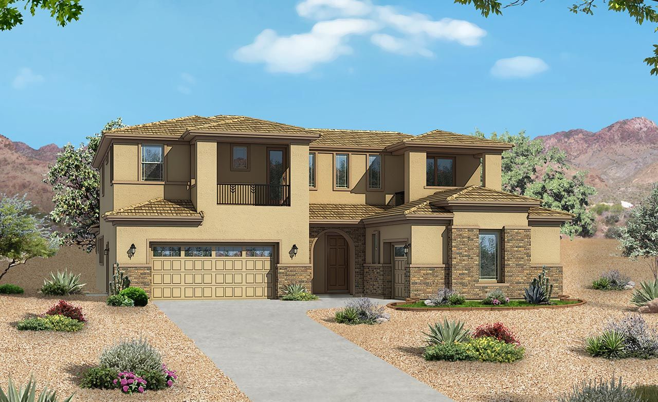 Marbella Home Plan By Gehan Homes In Rittenhouse Ranch Palazzo Series