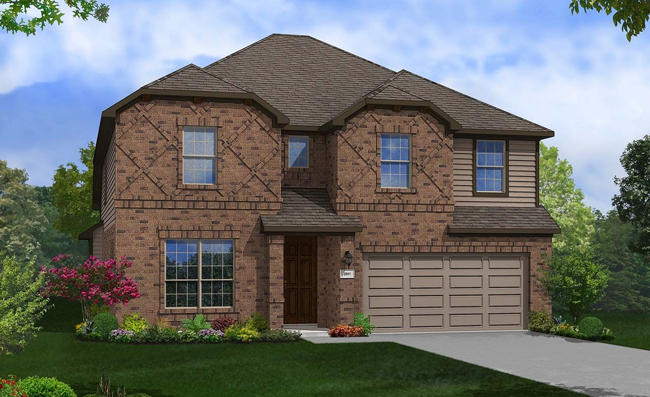 Gehan homes aspen floor plan for Aspen style home designs