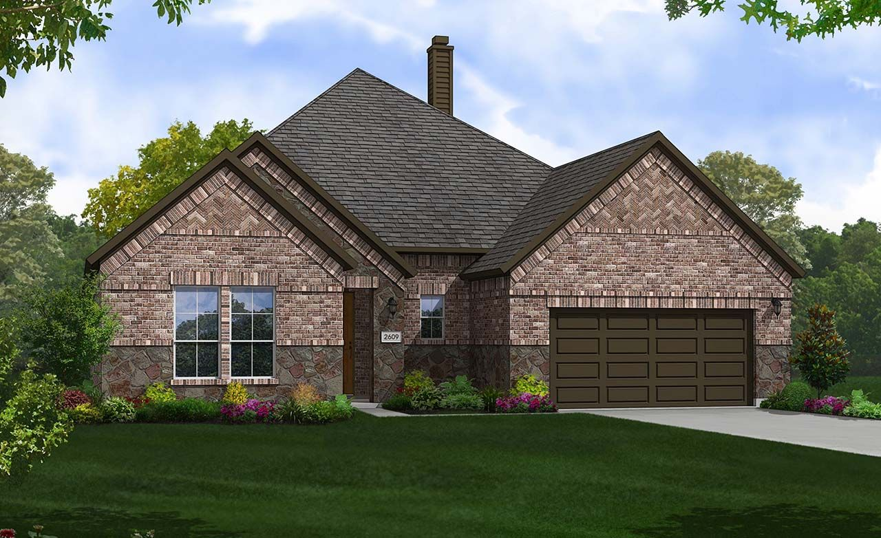 Yale home plan by gehan homes in the arbors at willow bay for Gehan homes