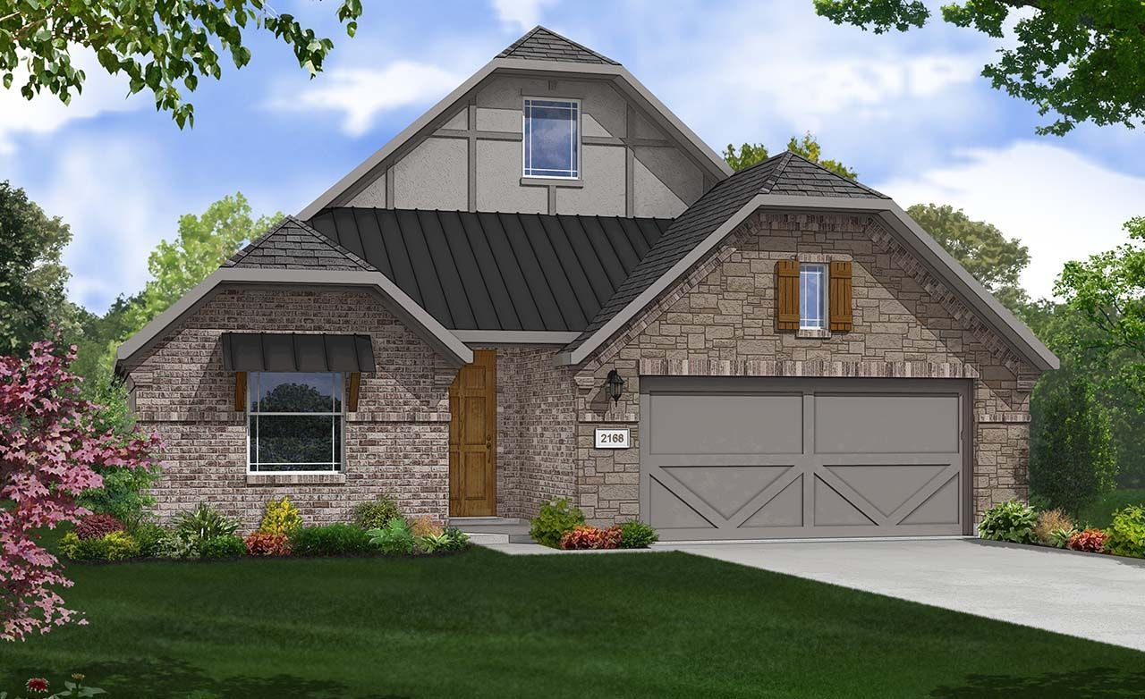 Juniper home plan by gehan homes in carnegie ridge for Juniper house