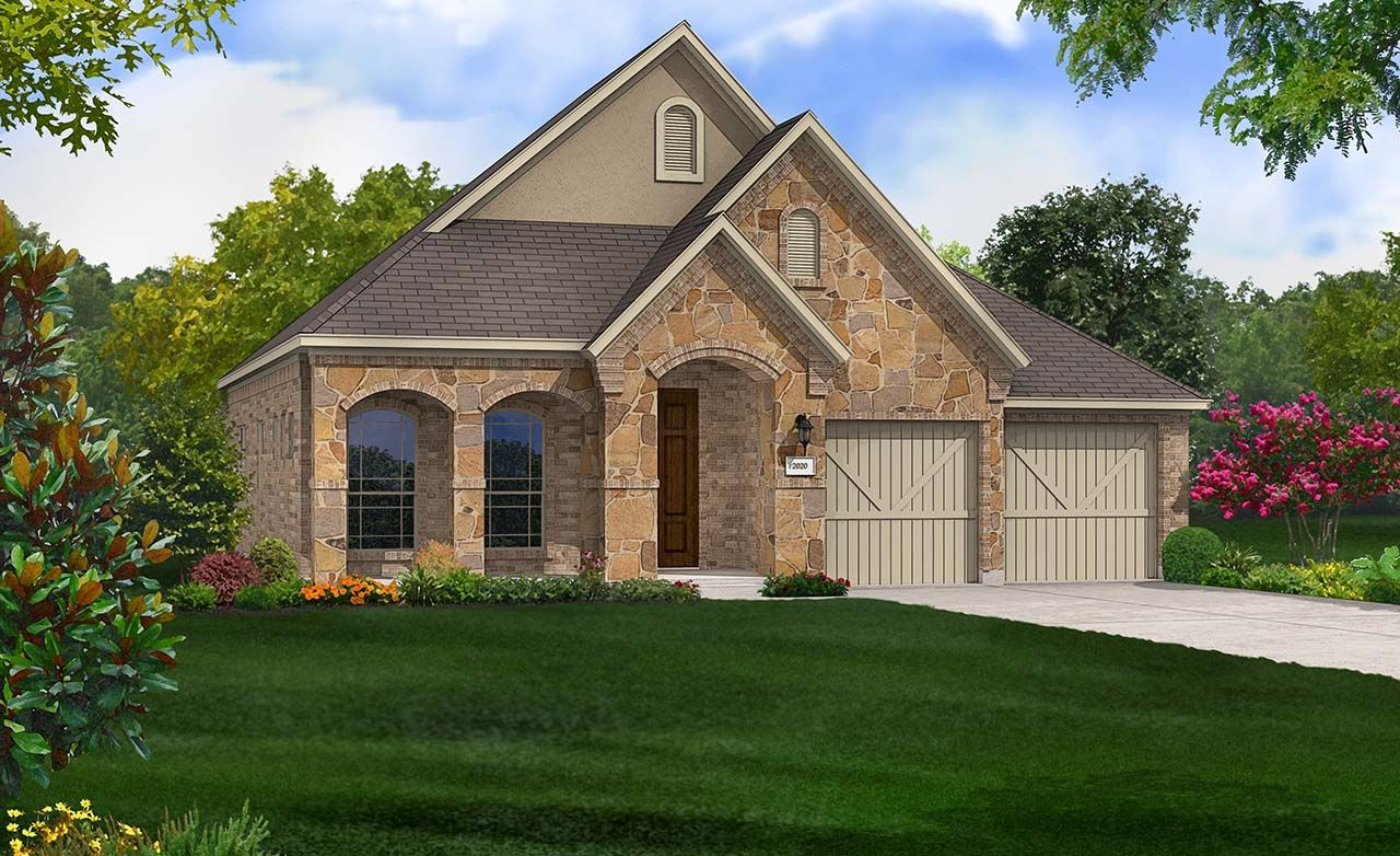 Laurel Home Plan By Gehan Homes In Alamo Ranch The