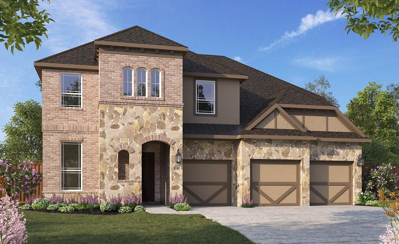 Dartmouth home plan by gehan homes in misty woods for Gehan homes