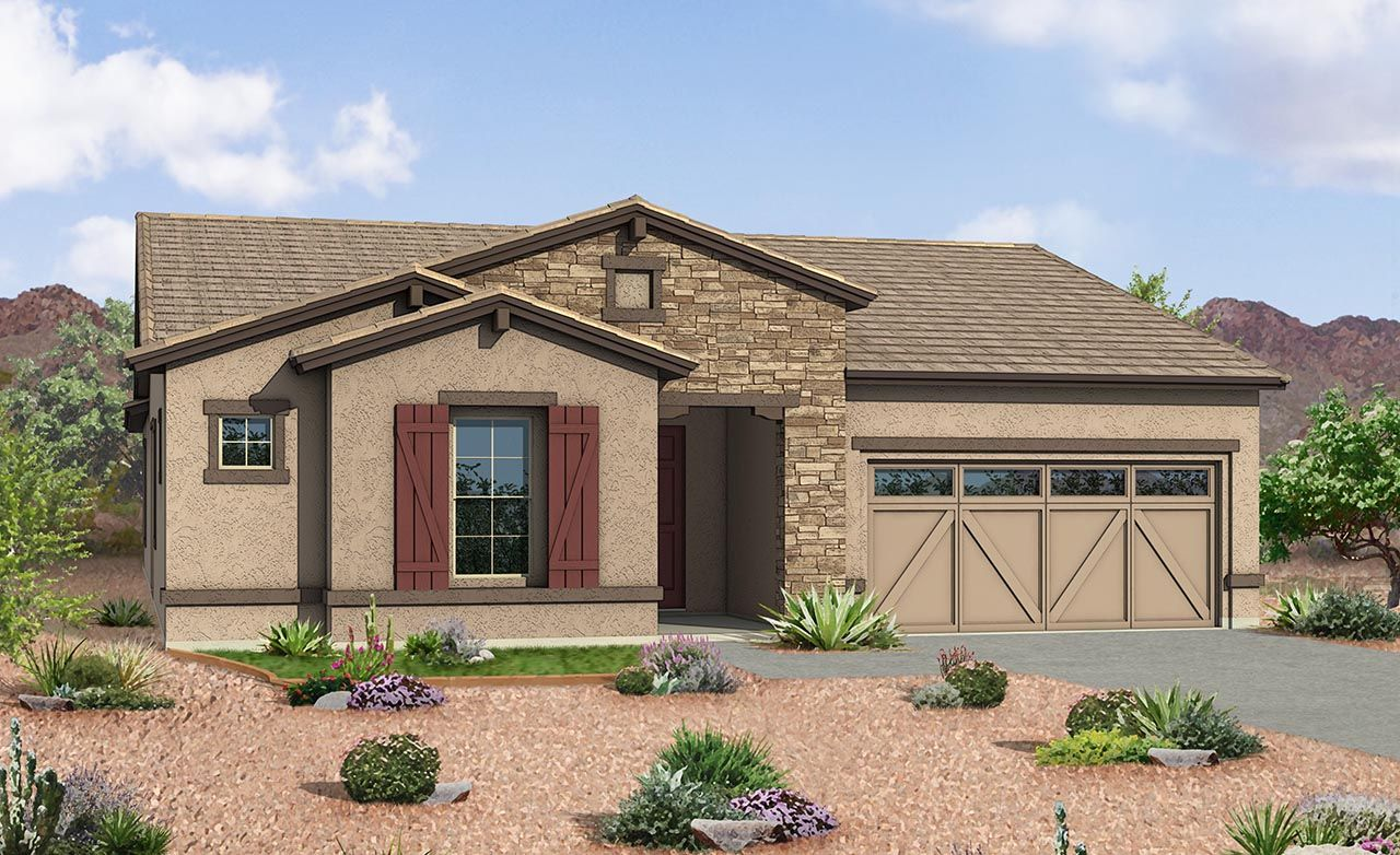New homes in phoenix mesa az all the top builders for Modern home builders phoenix
