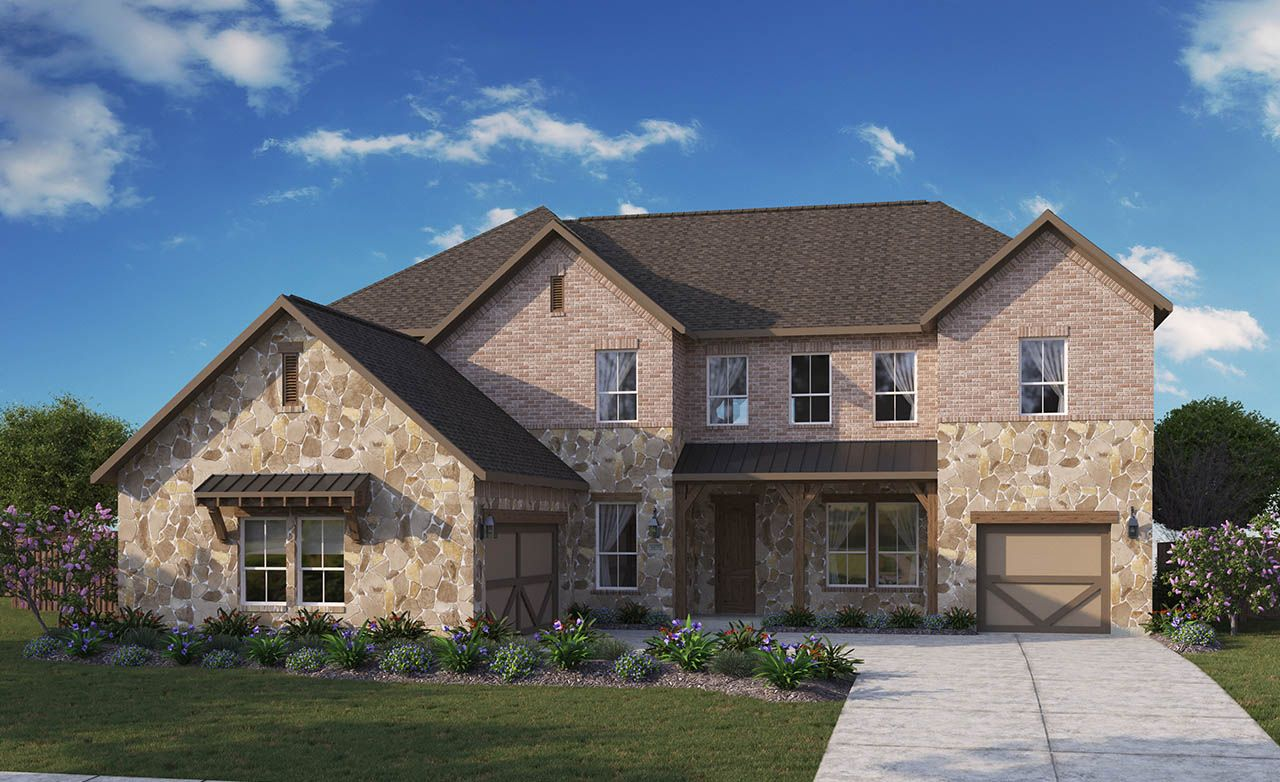 Monarch home plan by gehan homes in heath golf and yacht club for Monarch house