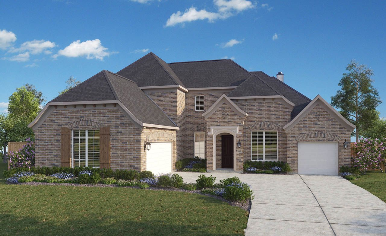 Longspur home plan by gehan homes in heath golf and yacht club for Gehan homes