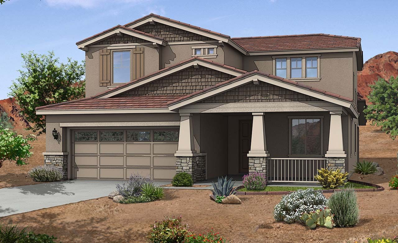 Fiora Home Plan By Gehan Homes In Zanjero Trails