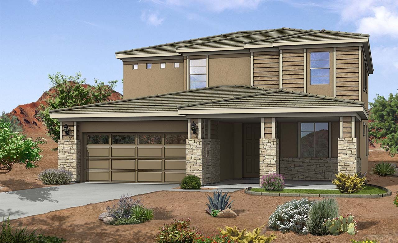 Parma Home Plan By Gehan Homes In Zanjero Trails