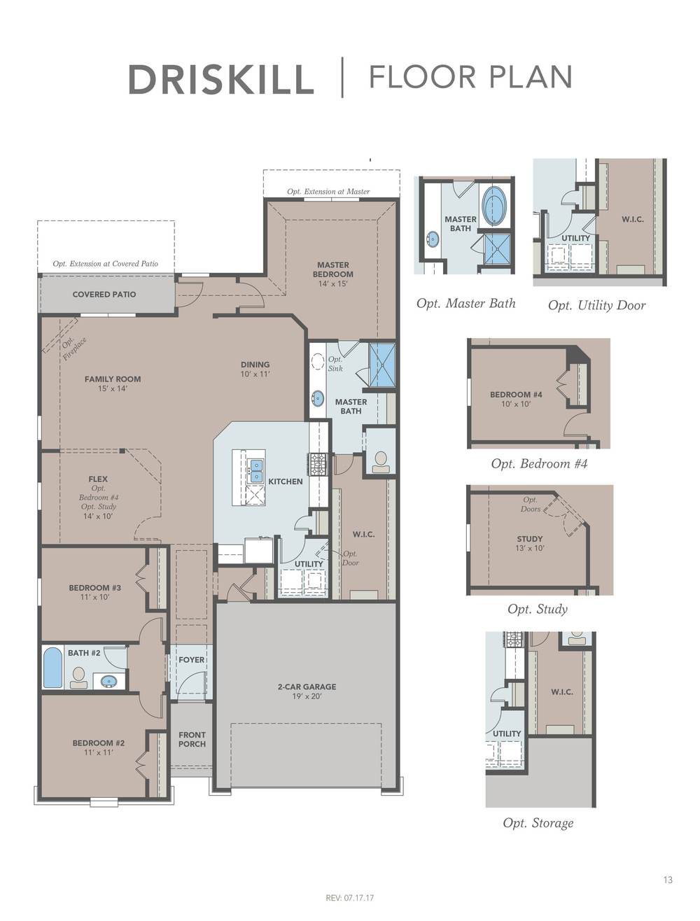 Driskill Floor Plan