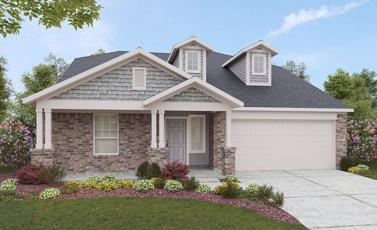 Lexington Home Plan by Gray Point Homes in ShadowGlen