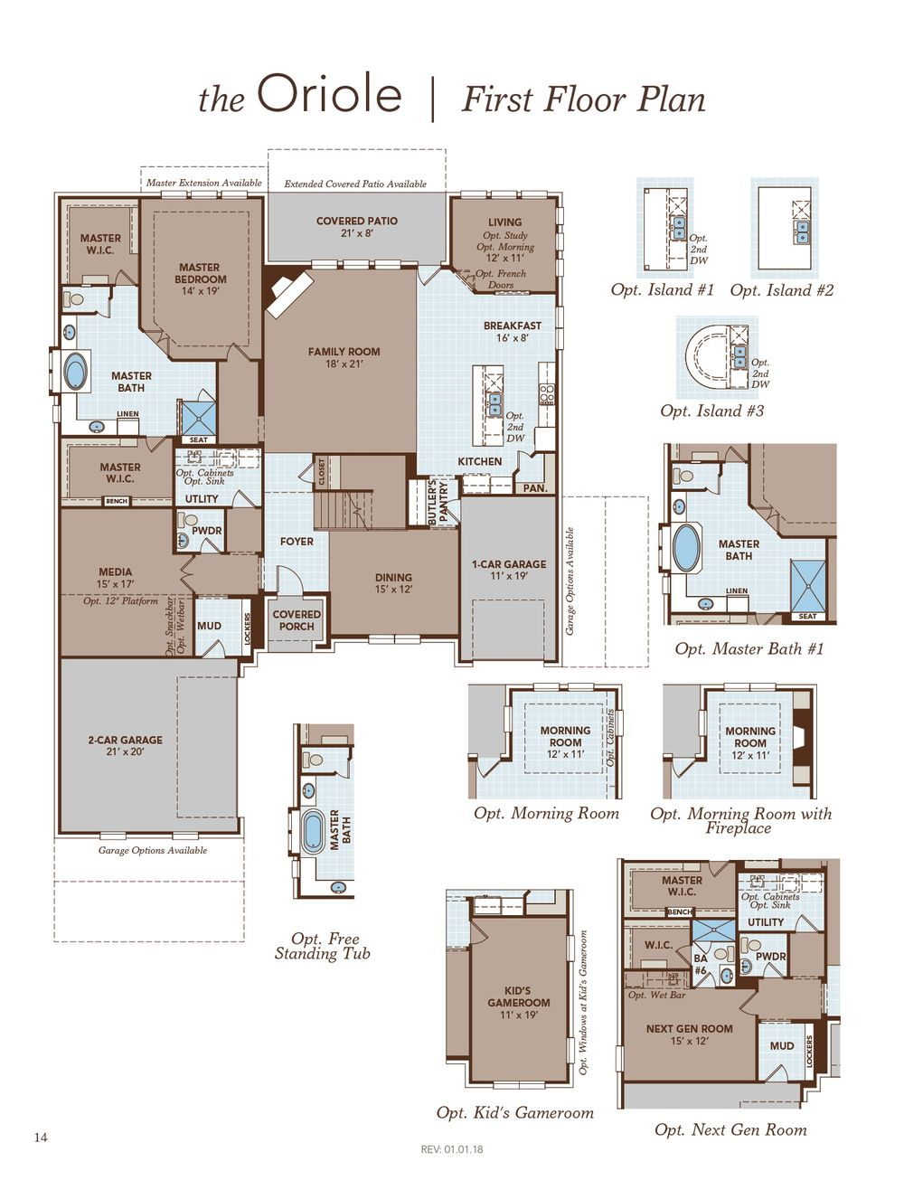 Oriole Home Plan By Gehan Homes In Trinity Falls River Park Signature