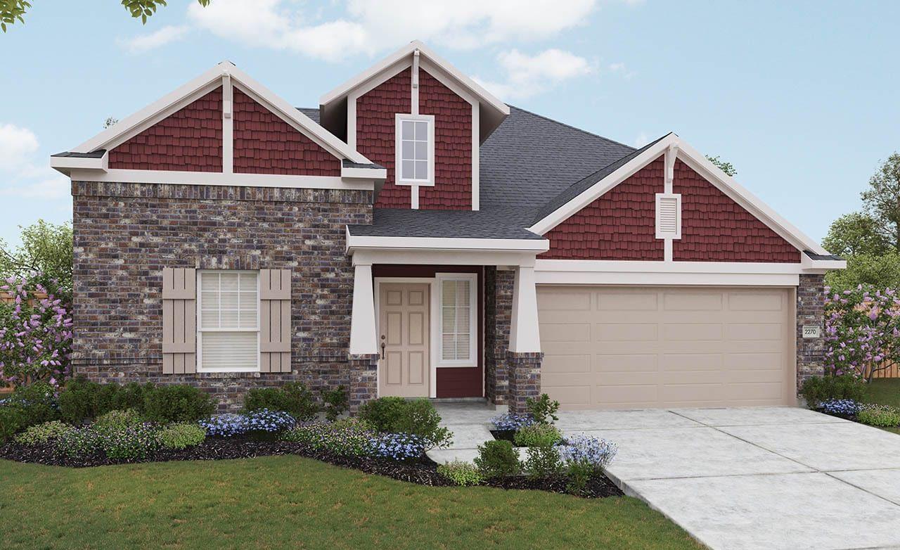 Lexington Home Plan by Gehan Homes in Gateway Parks - Landmark