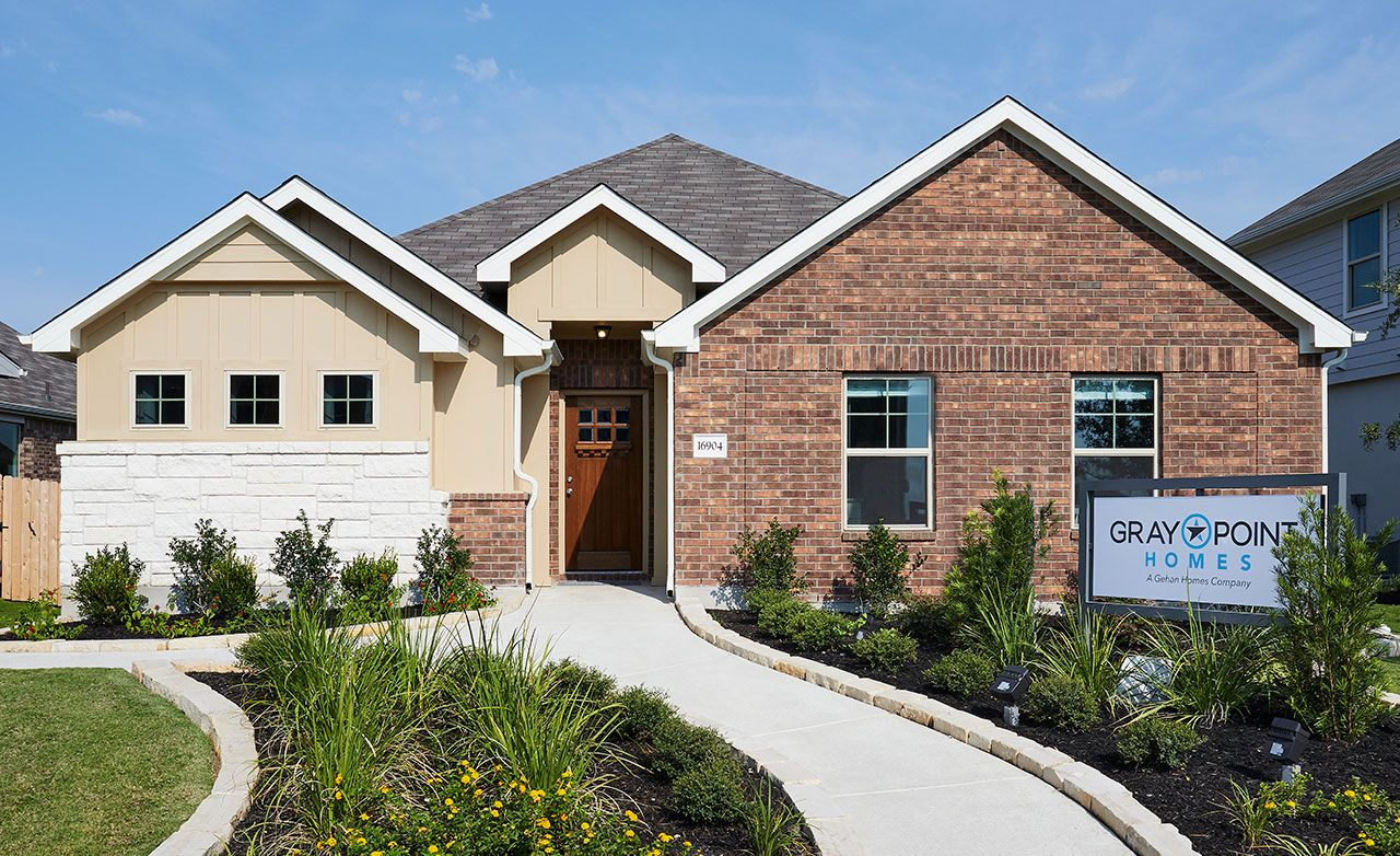 gray point homes entry level new homes in austin tx