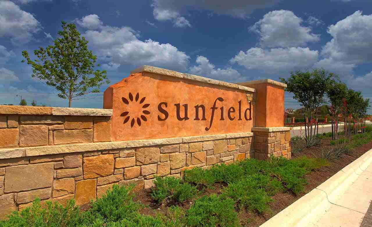 Sunfield Community Sign