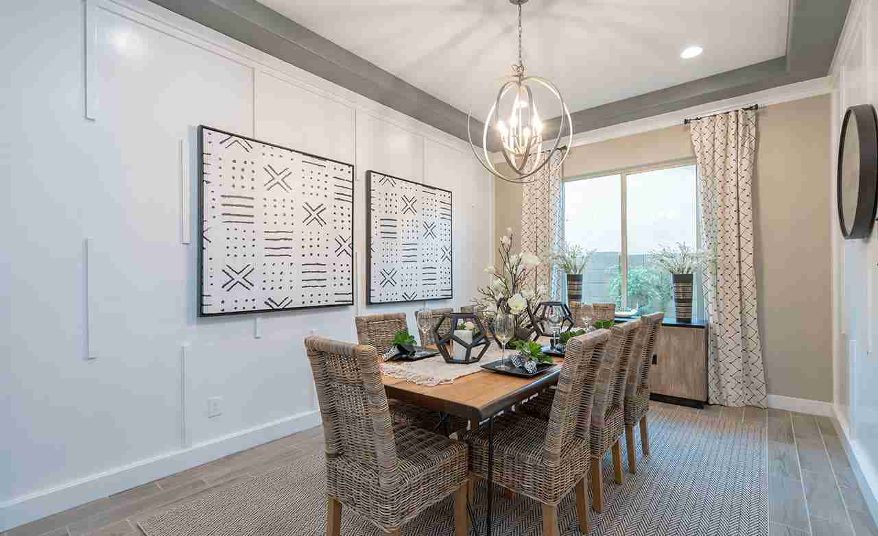 Peralta Canyon Cinnabar Dining Room