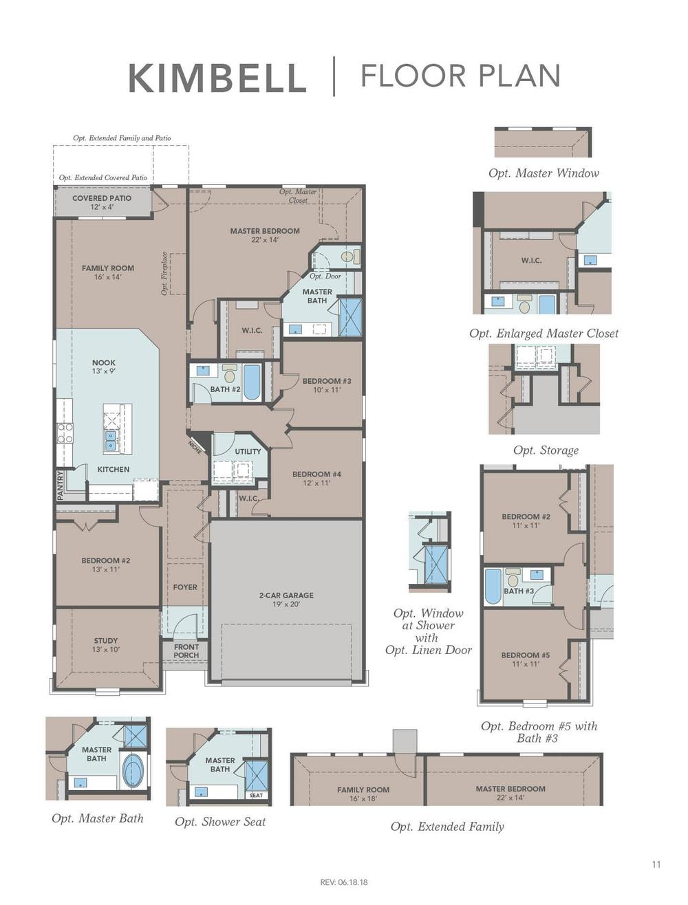 Kimbell Floor Plan