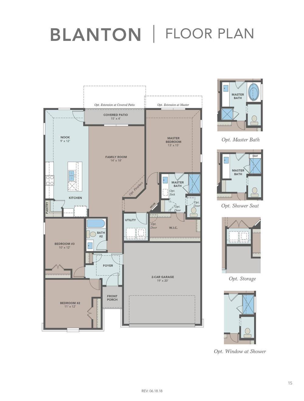 Blanton Floor Plan
