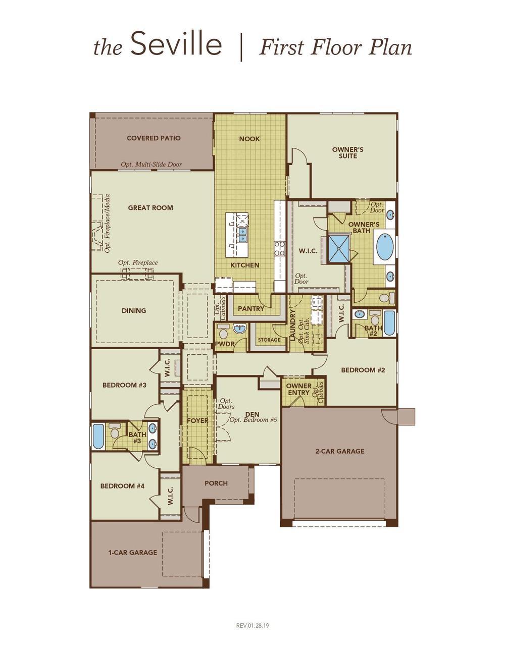 Seville - First Floor Plan